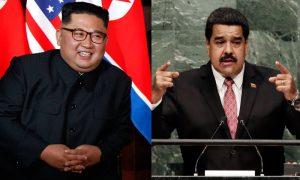 Kim Jong Un e Nicolás Maduro