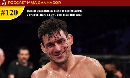 Demian Maia é lutador meio-médio do UFC