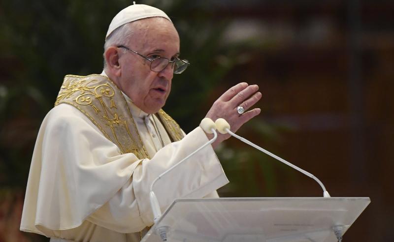 Papa Francisco no Vaticano