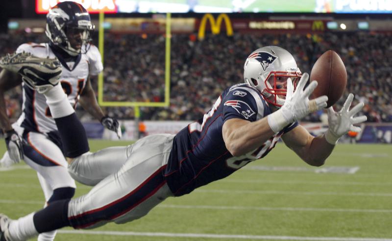Rob Gronkowski New England Patriots