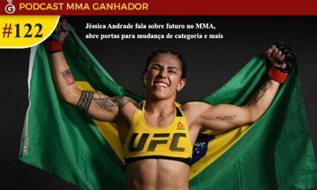 Jessica Andrade é lutador peso palha do UFC
