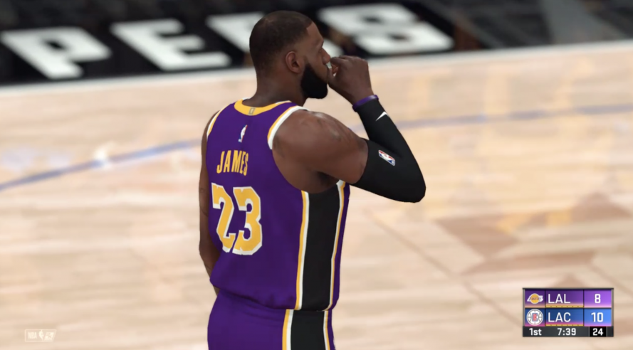 NBA2K20 SimSports LeBron James