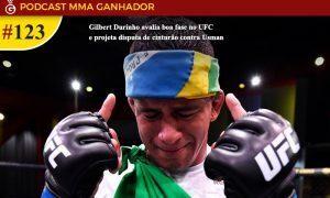 Gilbert Durinho é lutador da categoria dos meio-médios