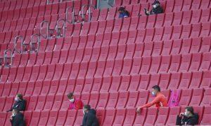 Jogo sem torcida Bundesliga portões fechados