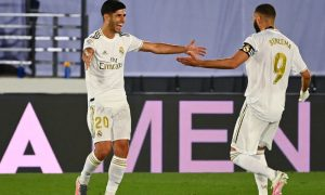Asensio e Benzema do Real Madrid