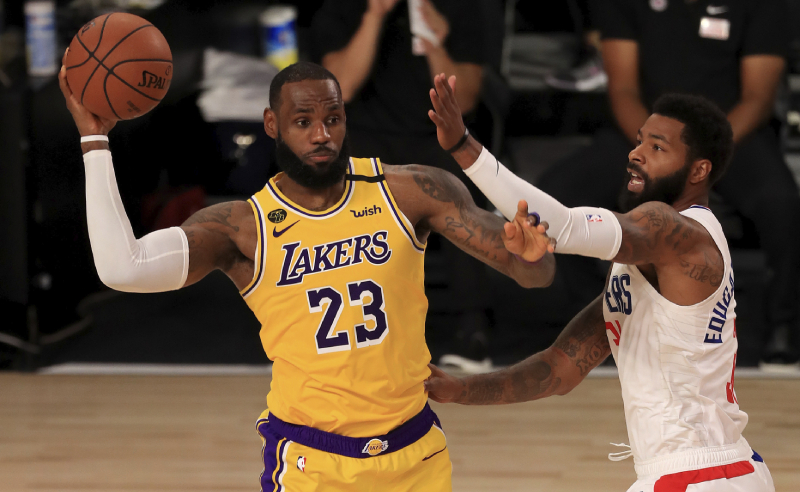 LeBron James Los Angeles Lakers NBA