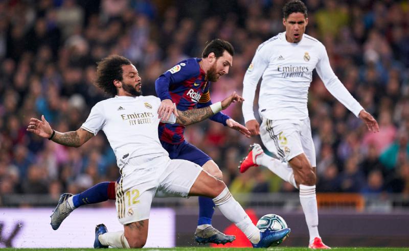 Marcelo Messi Real Madrid Barcelona El Clasico