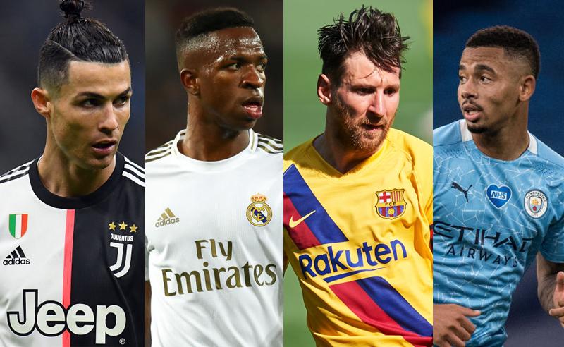 Ronaldo Junior Messi Jesus Champions