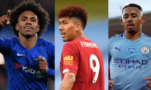 Willian Chelsea Firmino Liverpool Gabriel Jesus City