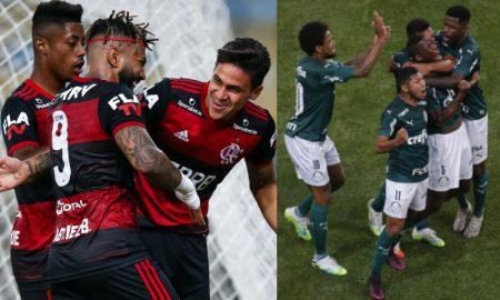 Flamengo e Palmeiras Brasileirão 2020
