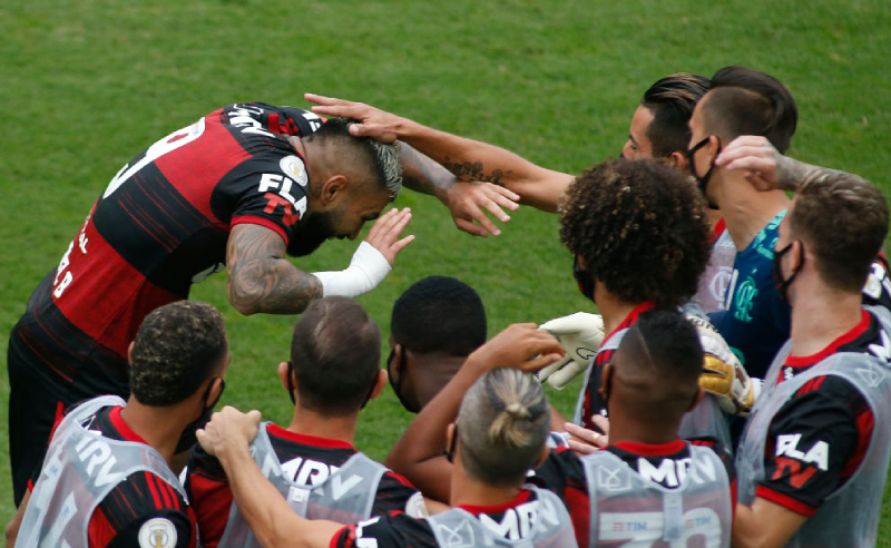 Gabriel Gabigol do Flamengo 31 agosto