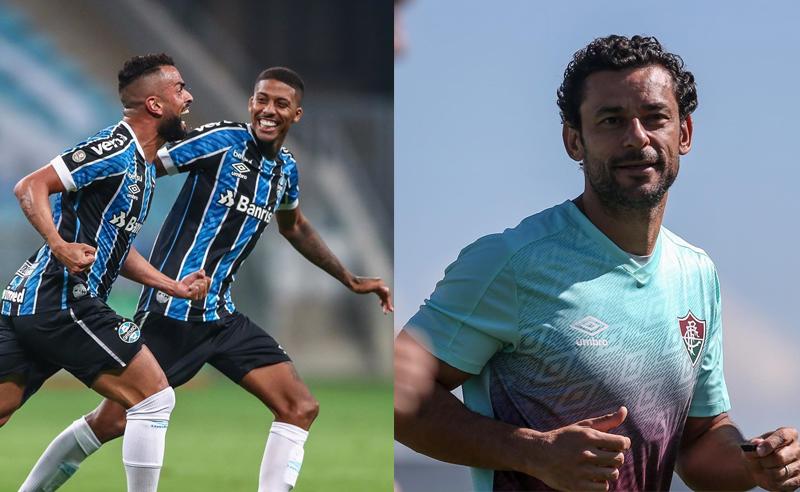 Gremio e Fluminense Brasileirao 2020