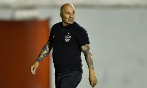 Jorge Sampaoli do Atlético-MG