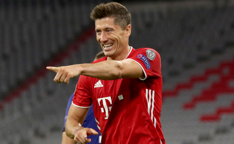 Lewandoski do Bayern de Munique