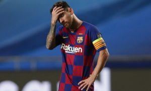 Lionel Messi saída do Barcelona
