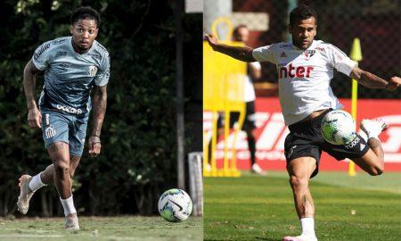 Marinho Santos Dani Alves SPFC