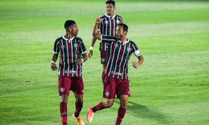 Nene e Marcos Paulo do Fluminense