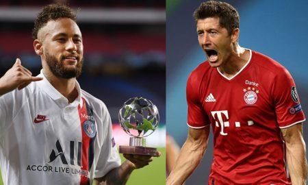Neymar PSG Lewandowski Bayern