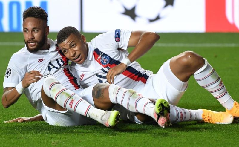 Neymar e Mbappé do PSG