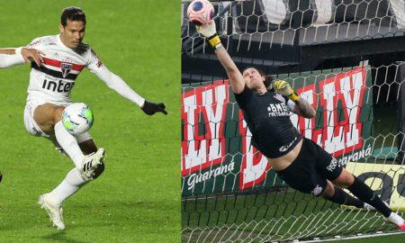 Pablo SPFC e Cassio Corinthians