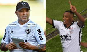 Sampaoli do Atlético-MG Jo do Corinthians