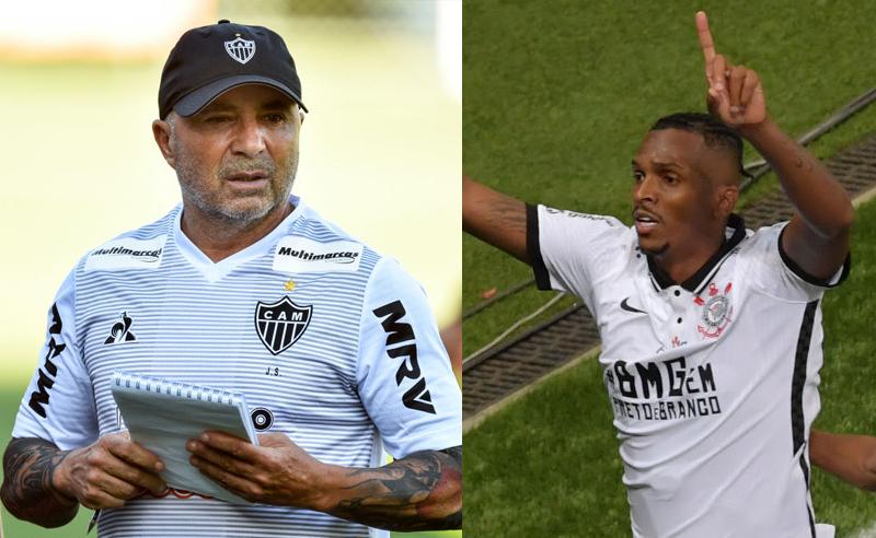 Sampaoli do Atlético-MG Jo do Corinthians