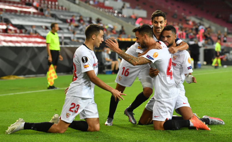Time do Sevilla na Liga Europa