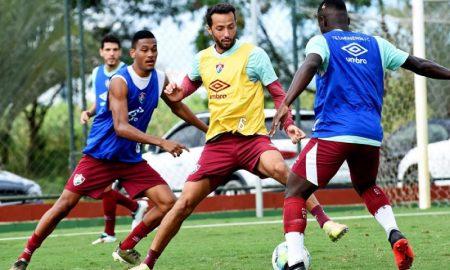 Treino Fluminense Copa do Brasil 2020