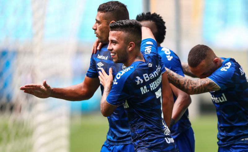 Diego Souza Matheus Henrique Grêmio