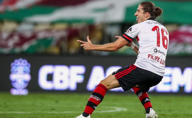 Filipe Luis do Flamengo
