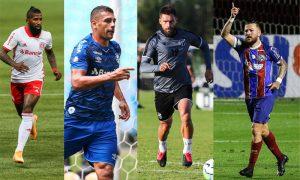 Inter, Grêmio, Ceará e Bahia
