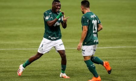 Patrick de Paula e Willian do Palmeiras