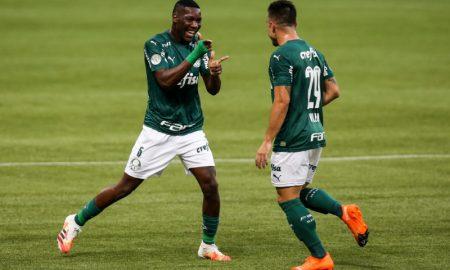 Patrick de Paula e Willian do Palmeiras