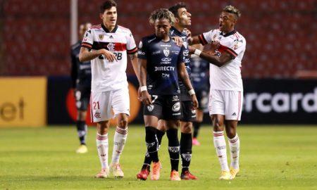 Pedro e Bruno Henrique do Flamengo