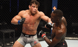 Paulo Borrachinha foi derrotado por Israel Adesanya no UFC 253