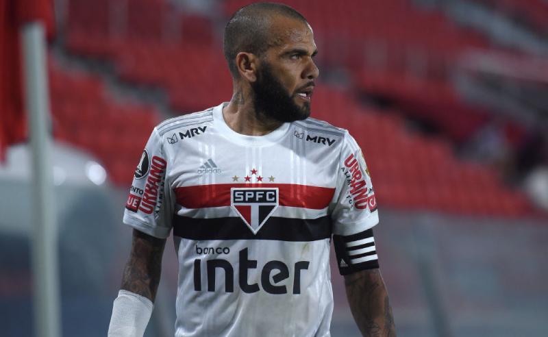 Dani Alves do São Paulo