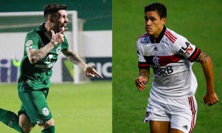 Daniel Bessa do Goiás e Pedro do Flamengo