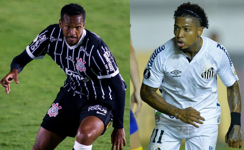 Jo do Corinthians e Marinho do Santos