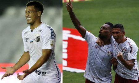 Marcos Leonardo do Santos, Danilo e Luccas Claro do Fluminense
