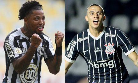 Marinho do Santos e Mantuan do Corinthians