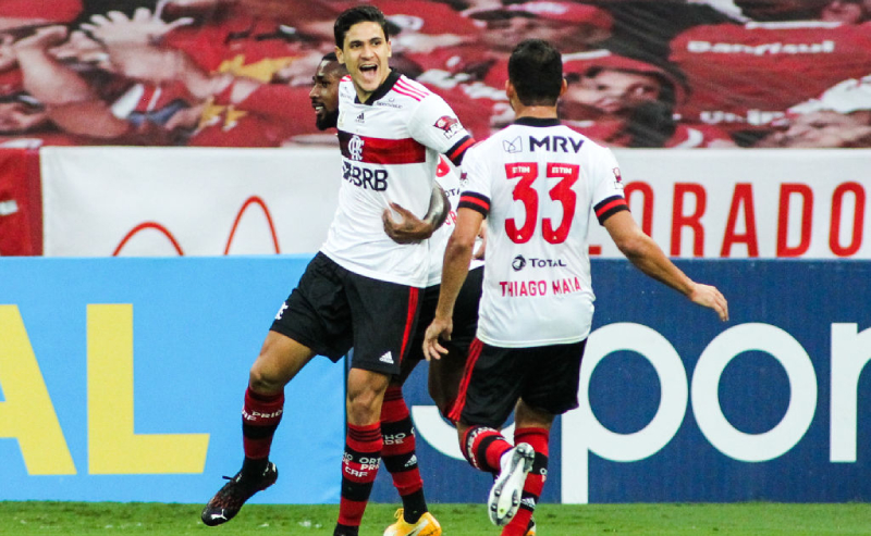 Pedro e Thiago Maia do Flamengo
