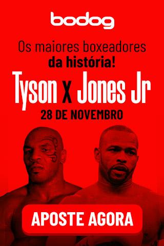 Tyson x Jones Aposte Agora