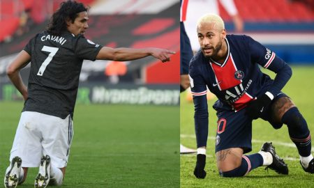 Cavani do Manchester United e Neymar do PSG