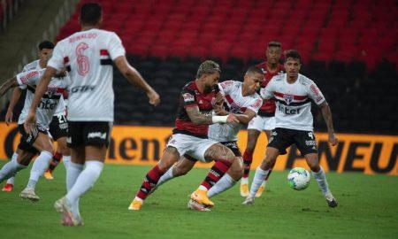 Flamengo x SPFC pela Copa do Brasil