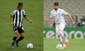 Honda do Botafogo e Luan Peres do Santos
