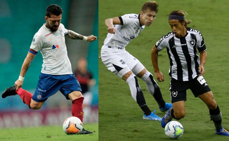 Rossi do Bahia e Honda do Botafogo