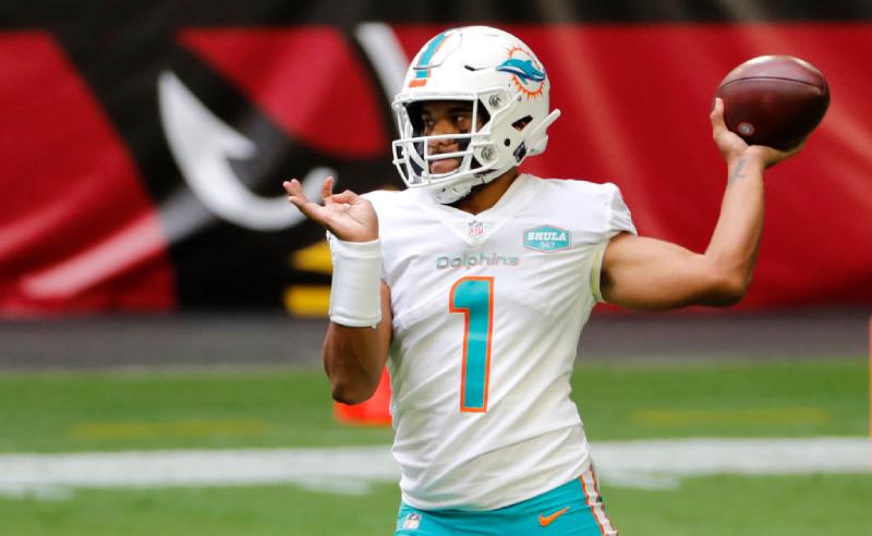 Tua Tagovailoa do Miami Dolphins