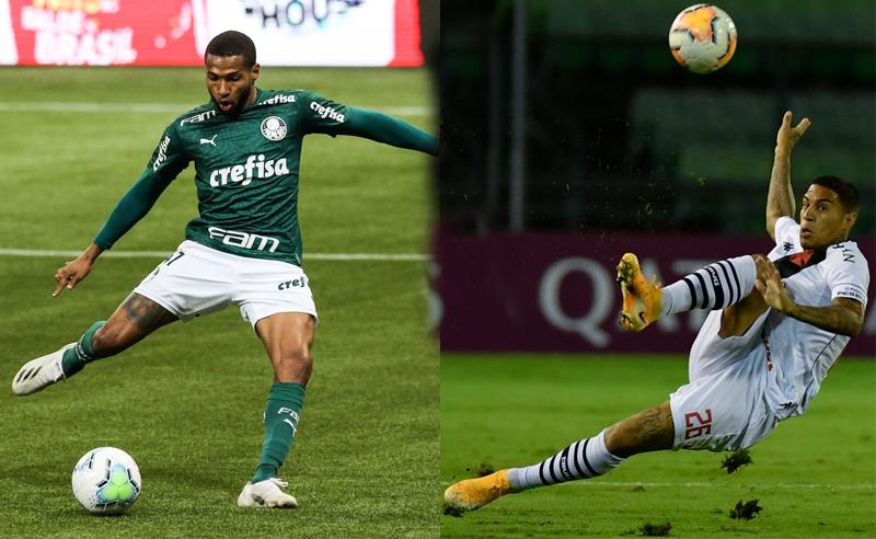 Wesley do Palmeiras Carlinhos do Vasco