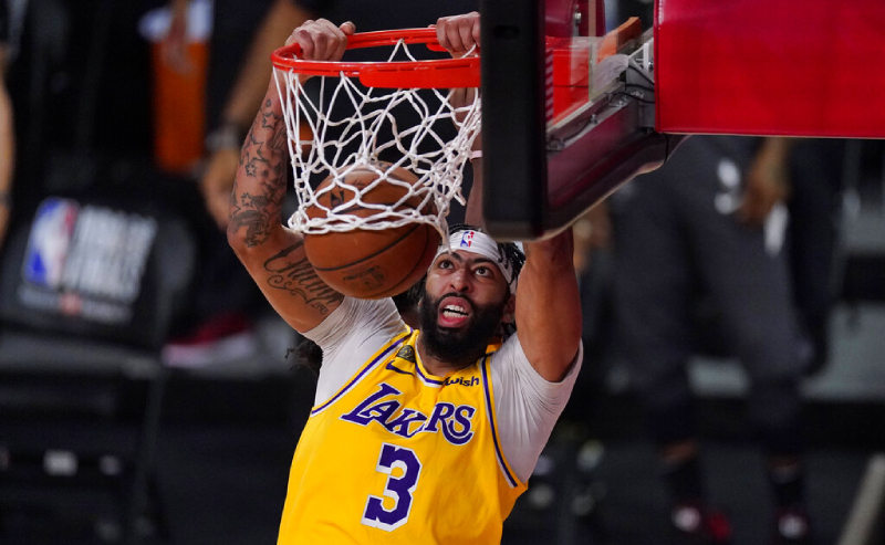 Anthony Davis do Los Angeles Lakers