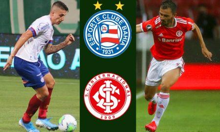 Bahia x Internacional Campeonato Brasileiro 2020